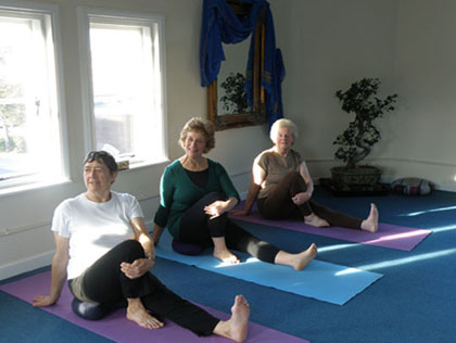 Image of a Yoga-Is Gentle Yoga class